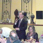 April 2010 - Celebrating Tax Freedom Day.   Jon Coupal  president of the Howard Jarvis Taxpayers Association (HJTA) addresses SCTA members.