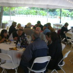 SCTA members celebrating  the Association's 50 years anniversary at Pippo's Ranch. October 17, 2010