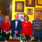 2012  Instalation of Officers: Gary rannefeld, Second vice President; Laura Peters, Secretary; Stephen Power, President; Ourania Riddle, Vice President; Gary Riddle, Treasurer